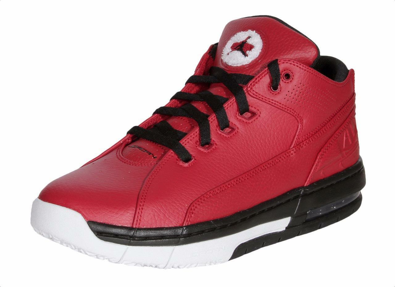 Air jordan ol'school basso 317765 601 palestra red scuola / nero-white - vecchia scuola red del cuoio 0e8cf4