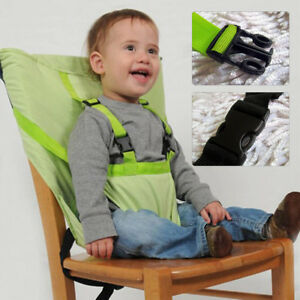 191acc27ccf0 Portable Baby High Chair Feeding Booster Seat Infant Folding Safety ...