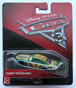 Mt Cars 3 No 54 Tommy Highbanks Diecast Toy Car 1 55 New In Package