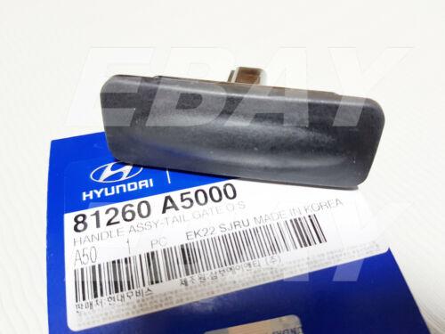 OEM Tail Gate Outside Handle ASSY Hyundai Elantra GT i30 2013-2017 #81260A5000