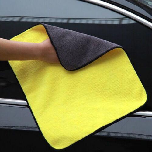 Absorbent Car Wash Microfiber Towel Drying Cloth Car Cleaning Towel 30cmX40c lq
