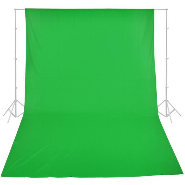 10x20 ft Green Screen 100% Cotton Muslin Backdrop Photo Photography Background