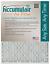 Accumulair Platinum 20x23x1 Actual Size MERV 11 Air Filter//Furnace Filters 4