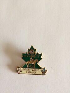 LIONS-CLUB-PIN-MULTIPLE-DISTRICT-A-ONTARIO-QUEBEC-LABRADOR-CANADA-RCMP