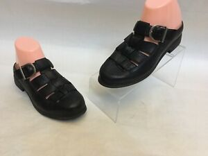 Ariat-96801-Women-039-s-Black-Leather-Fisherman-Style-Slide-Sandals-Mules-Size-7-B