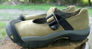 Keen-Mint-Green-Suede-Mary-Jane-Women-039-s-XT-0905-Shoes-Wlaking-Hiking-Size-6-5