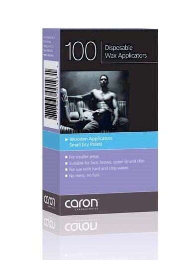 CARON Disposable Wax Applicators Small Icy Pole (100)