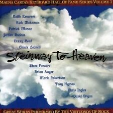 Steinway To Heaven CD NEW SEALED Keith Emerson/Rick Wakeman/Brian Auger