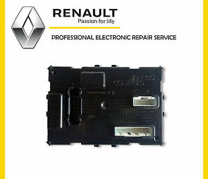renault clio modus mk 3 uch bcm body control module repair service ebay. Black Bedroom Furniture Sets. Home Design Ideas