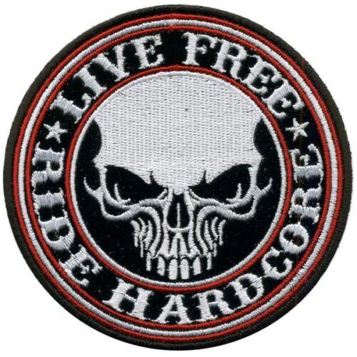 Dio vuole SCOOTER PATCH RICAMATE BADGE Biker Heavy Rocker STAFFA immagine tonaca MOTORINO
