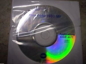 New Genuine Konica Minolta Magicolor 1690mf Printer Cd Software Driver Utilities Ebay
