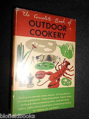 The Complete Book Of Outdoor Cookery 1956-1st Helen Evans Brown Cooking/cook Books, Comics & Magazines