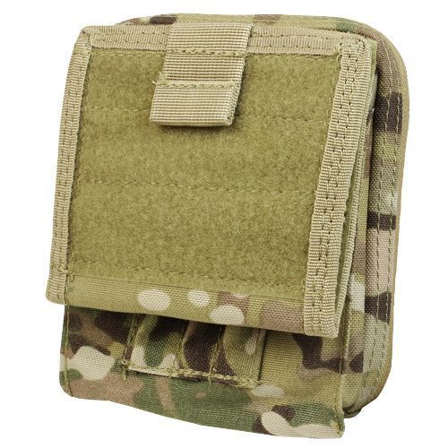 CONDOR MA35-008 Modular  MOLLE Tactical Map Admin ID Pouch Holster Case MultiCam  discounts and more