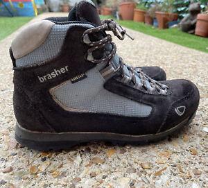 BRASHER Tyana GTX Womens Walking Boots Size UK 7 Gore-Tex Blue Grey