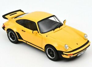 PORSCHE 911 Turbo 3.0 - 1976 - yellow - Norev 1:18
