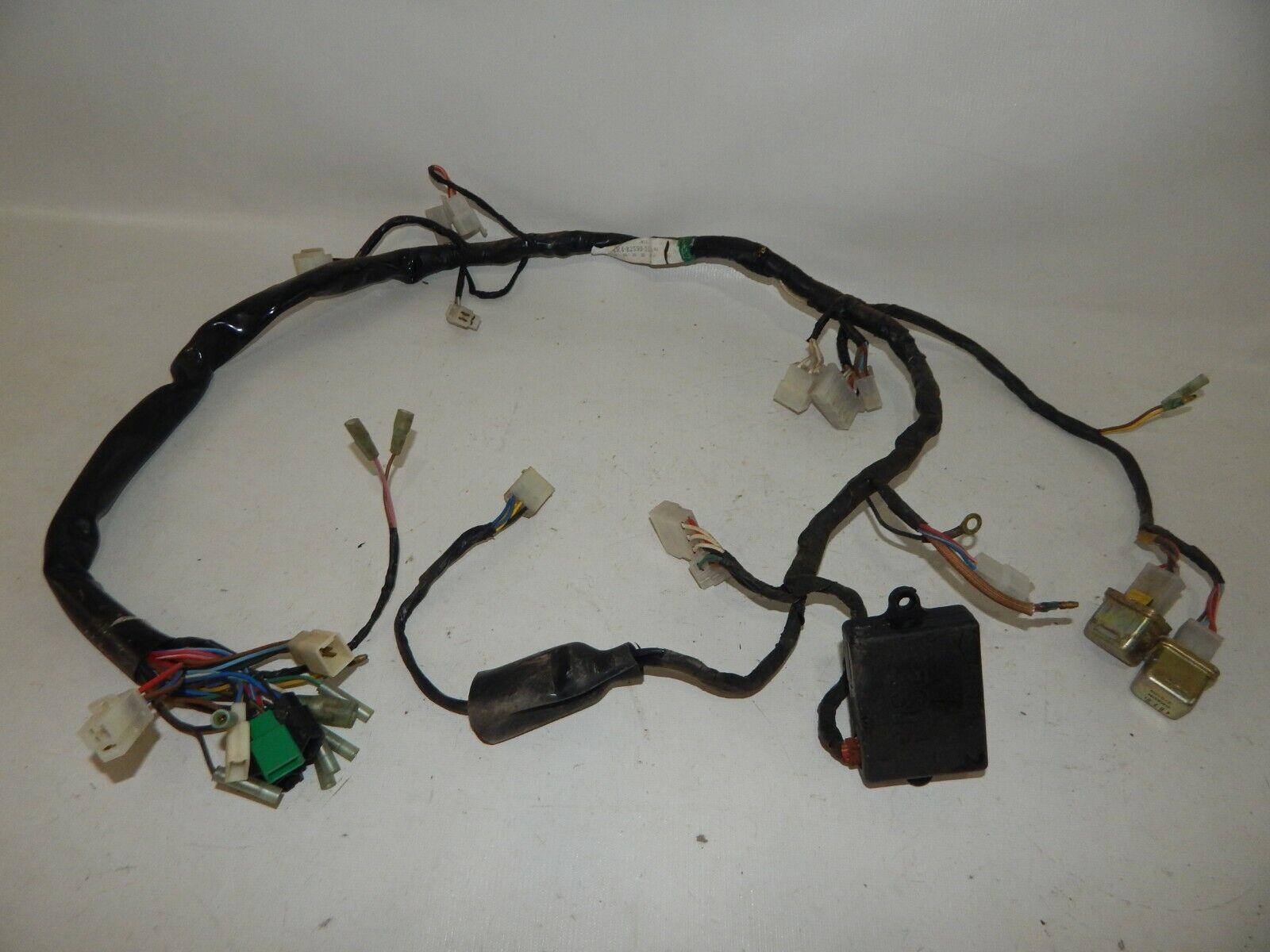 NOS OEM 1981-1982 Yamaha XS400 Wiring Harness Main Body Engine Loom  4R4-82590-51 | eBayeBay