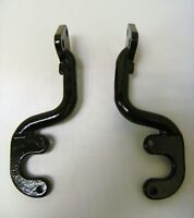 Ford Pickup Truck Cast Iron Tail Lamp Tail Light Brackets Pair