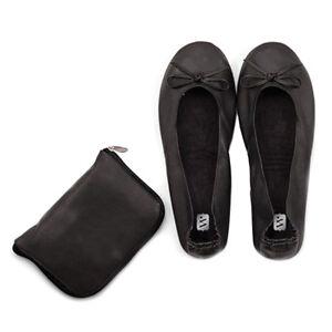 Ballerinas-Pocket-Shoes-Schwarz-mit-Tasche-Hochzeit-Schuhe-Wechselschuhe