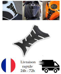 PROTECTION RESERVOIR MOTO Gel effet CARBONE PAD STICKERS PROTEGE RAYURE PROGRIP
