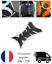 miniature 1 - PROTECTION RESERVOIR MOTO Gel effet CARBONE PAD STICKERS PROTEGE RAYURE PROGRIP