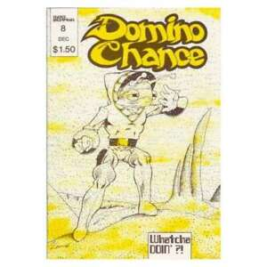 Domino Chance #8 in Very Fine + condition. [*n4]