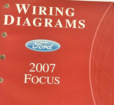 wiring diagrams2007 ford focusoem electrical manual  ebay