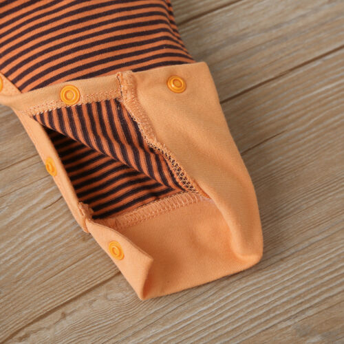 Newborn Baby Stripe Bodysuit Romper Infant Boy Girl Jumpsuit Kids Clothes Outfit