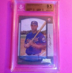 GRAD YSIZEMORE RC 2000 Bowman Draft Picks #109 BGS 9.5 TRUE GEM MINT + w 10
