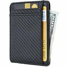 002f1d91a35 item 1 Slim Minimalist Front Pocket RFID Blocking Leather Wallet Money Clip  Card Holder -Slim Minimalist Front Pocket RFID Blocking Leather Wallet  Money ...