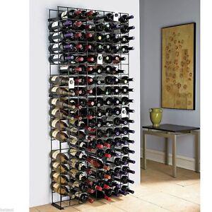 Metal Wine Rack 144 Bottle Holder Bar Accessories Cellar