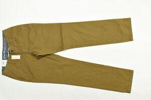 Women's Eddie Bauer 2 Chino Straight Pants Legend Was Brand new  Brown Cotton