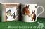 Famous-Racehorses-Red-Rum-Shergar-Nijinski-etc-china-mug-horse-lover-Gift-boxed miniatuur 1