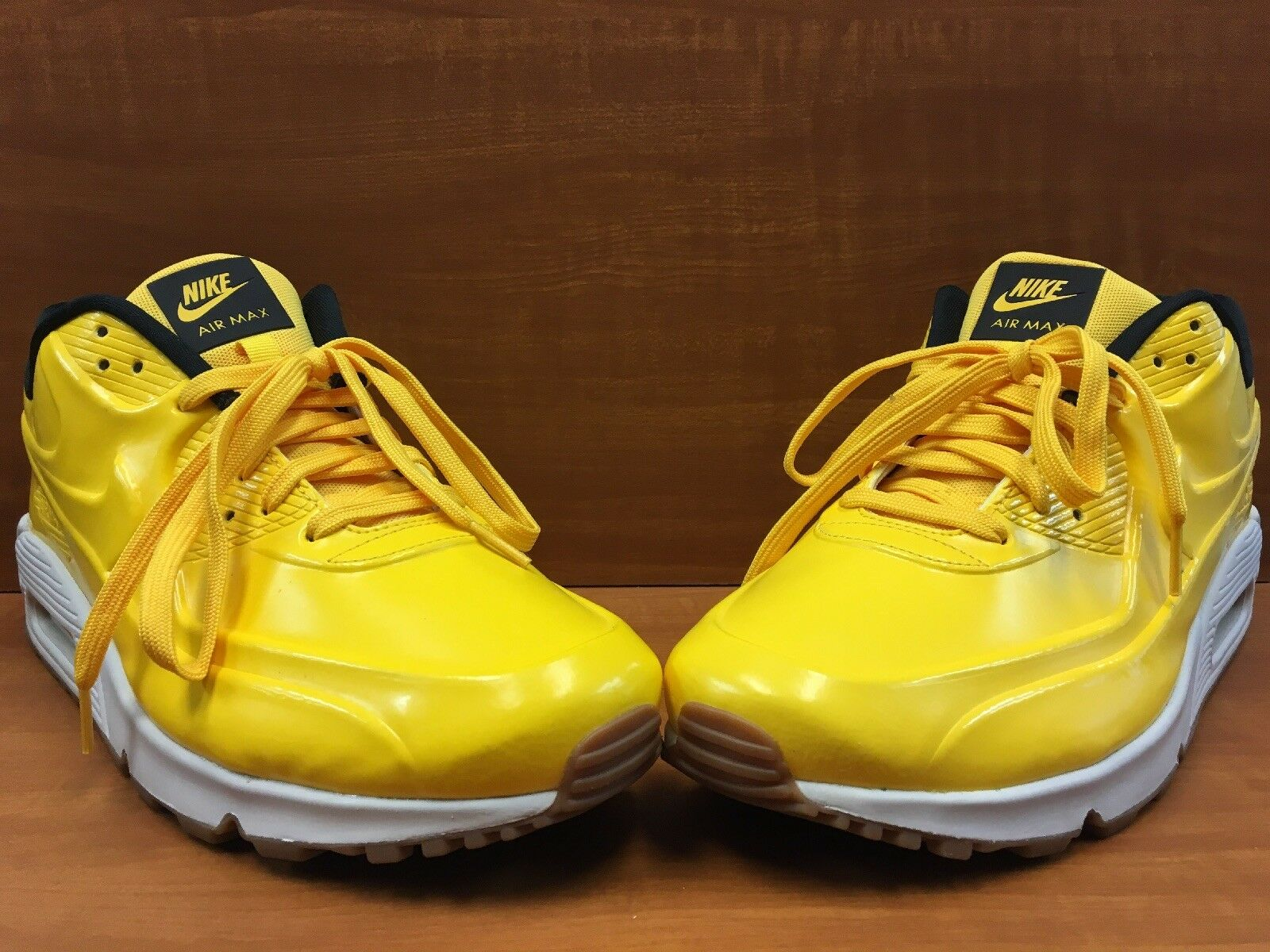 "NIKE AIR MAX 90 VT QS ""Bumblebee"" Varsity Maize Black 831114-700 Men's Size 12"