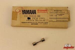 NOS YAMAHA XS850 XS650 SX400 SX1100 10A FUSE QTY:1 PART#  116-82151-00