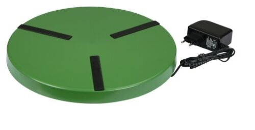 1 von 1 - Heizplatte für Geflügeltränke Ø 30cm Tränke Wärmeplatte Tränkenwärmer Heizung