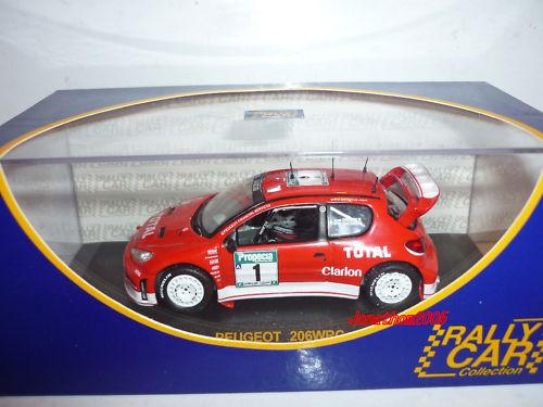 RALLY CAR PEUGEOT 206 WRC NUOVA ZELANDA 2003 au 1 43°