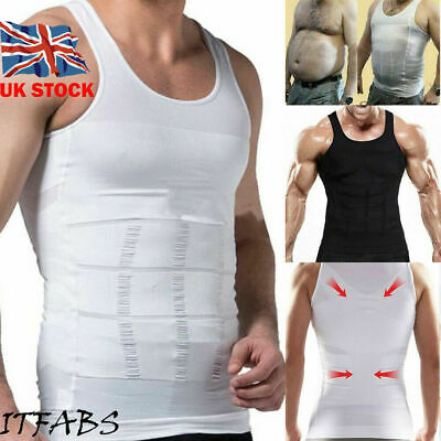 Men's Gym Neoprene Vests Sauna Ultra Sweat T-shirt Body Shaper Slimming Cincher Angenehme SüßE