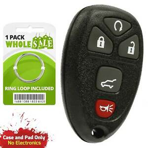 2 Replacement For 2008 2009 2010 2011 Buick Enclave Car Keyless Key Fob Remote