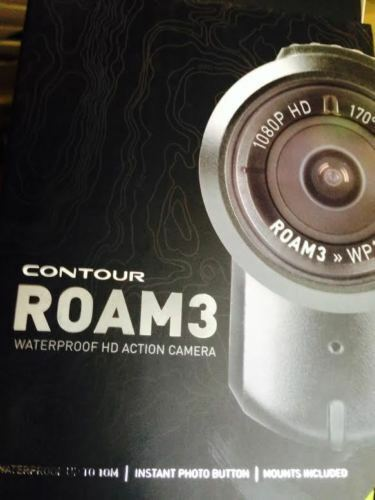 Action Mimetico Motoslitta HD Casco Videocamera Contourroam3 32gb scheda SD