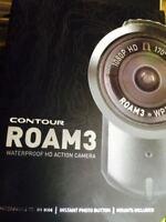 Action Cam Snowmobile Hd Helmet Camera Contourroam3 32gb Sd Card Contour Roam3