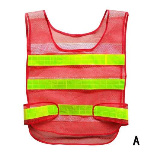 Sicherheits Warn Weste Gelb Bau  Warehouse-Reflektierende-Security Jacke Kit s