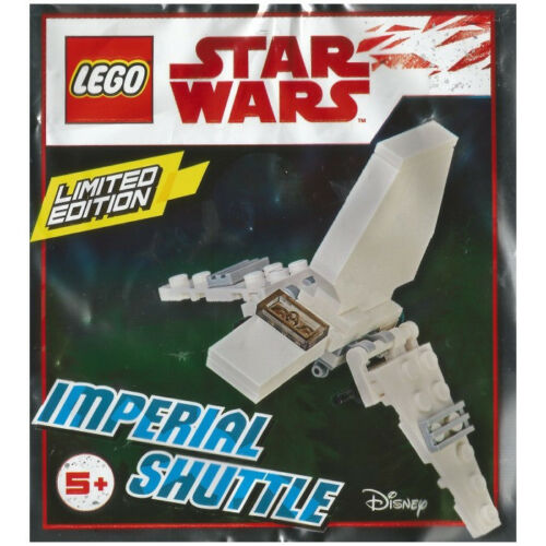 NEW LEGO IMPERIAL SHUTTLE FOIL PACK 911833 sealed polybag star wars set RARE