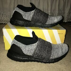Details about [BB6137] Mens ADIDAS Ultraboost Ultra Boost Laceless Running Sneaker Size 9.5