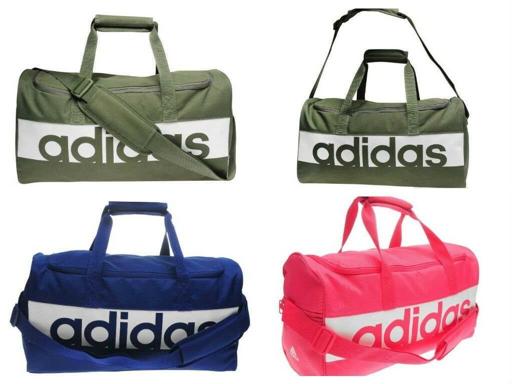 Bag  Carryall Bag Gym Handle & Shoulder Adidas Linear Team Bag bluee Green Pink  online shopping sports