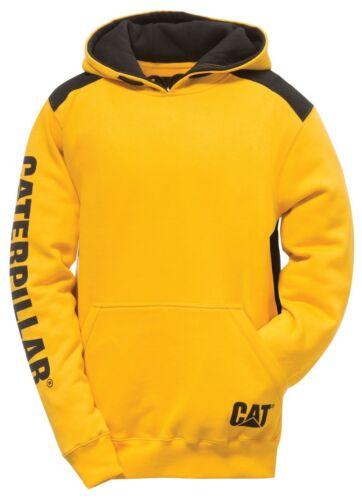 Lavoro Durevole Logo Felpa Cappuccio Caterpillar Inserto Con Cat Maglione Uomo Aq0wY0