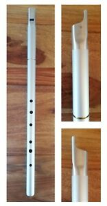 Low D anodised tunable Irish whistle - 2 sections body