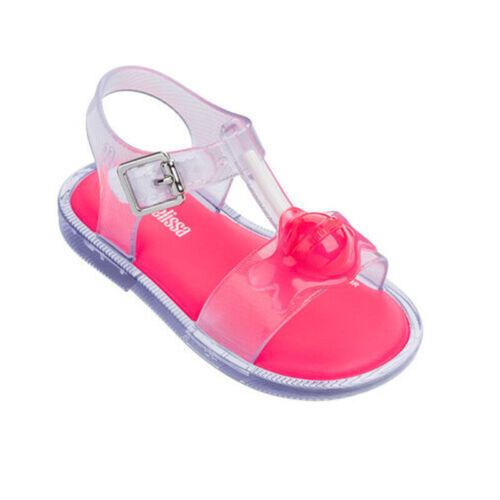 2020 New Fashion Lollipop Kids Girls Mini Melissa Shoes Sandals US Size 7-11