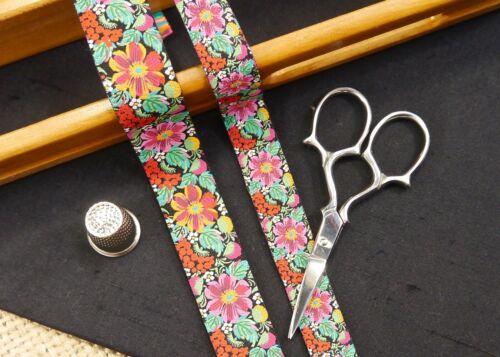 Fruta Flor Prado Multicolor Jacquard Cinta de arte MA905 collar de perro