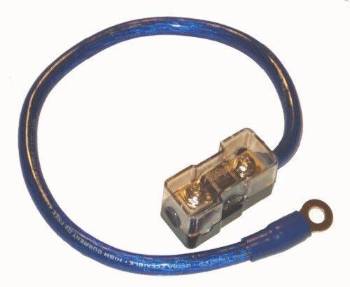 4 Gauge Mini ANL Fuse Holder Battery Kit Amp Install