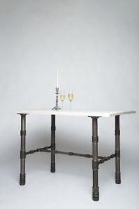 Industrial Tisch küchentisch shabby industrial tisch stahl sondermaße